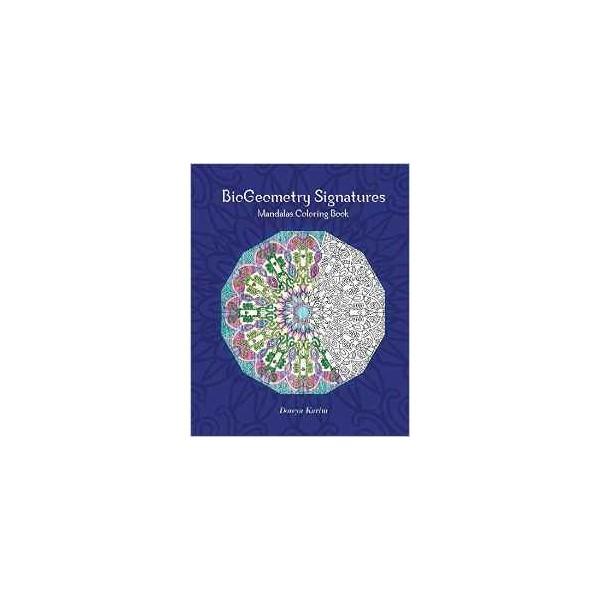 BioGeometry Signatures Mandalas Coloring Book